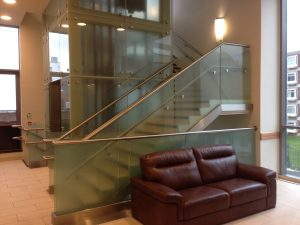 metal handrails from lasercentre