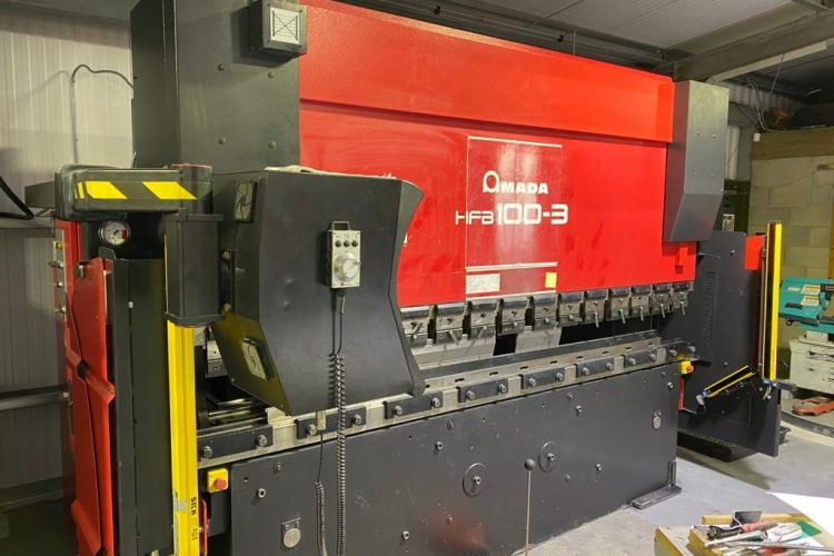 Laser Centre take delivery of their new Press Brake